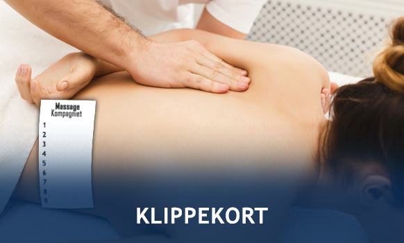 Massage klippekort